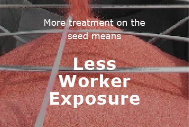 Less Worker Exposure